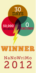Winner - NaNoWriMo 2012